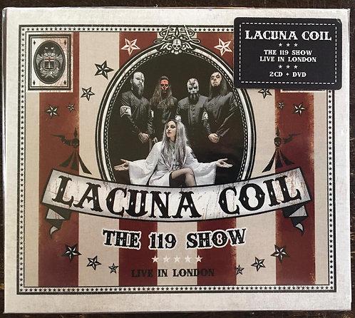 CD Duplo + DVD Lacuna Coil - The 119 Show - Live In London - Lacrado - Digipack