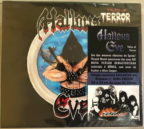 CD Hallow's Eve - Tales Of Terror - +Bônus / Poster- Lacrado