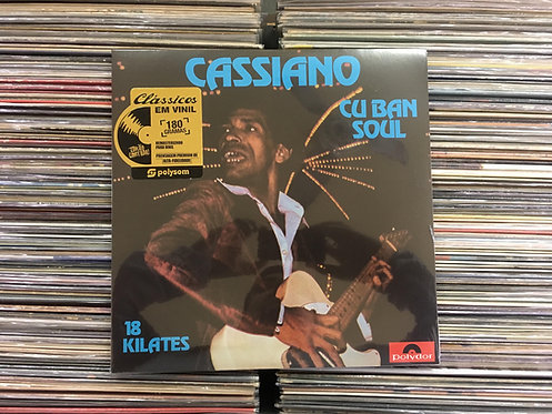 LP Cassiano - Cuban Soul - 18 Kilates - Novo E Lacrado