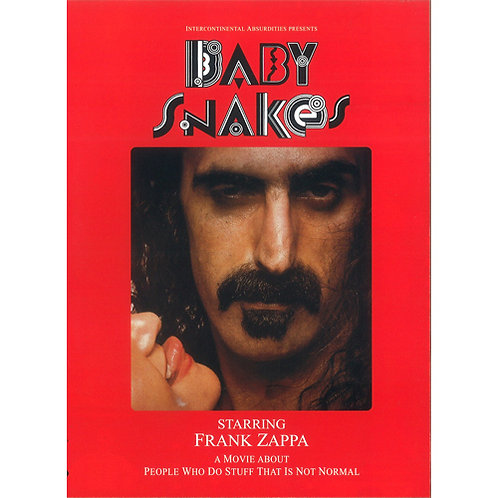 DVD Frank Zappa - Baby Snakes - A Movie About People Who Do Stuff That Is Not...