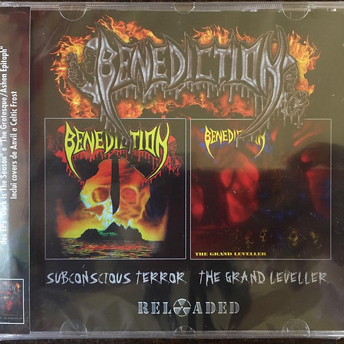 CD Benediction - Subconscious Terror / The Grand Leveller - Duplo - Lacrado