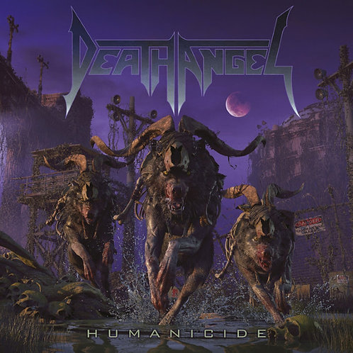 CD Death Angel - Humanicide - Lacrado
