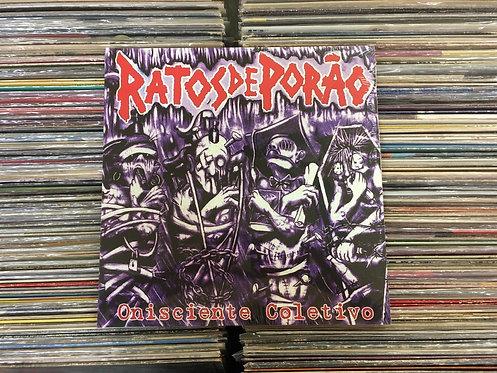 LP Ratos De Porão - Onisciente Coletivo - Ed. Limitada - Lacrado