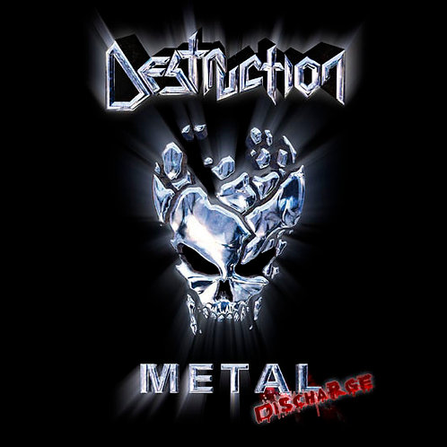 CD Destruction - Metal Discharge - Ed. Limitada - Lacrado