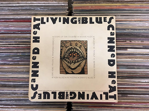 LP Canned Heat - Living The Blues - Duplo - Importado