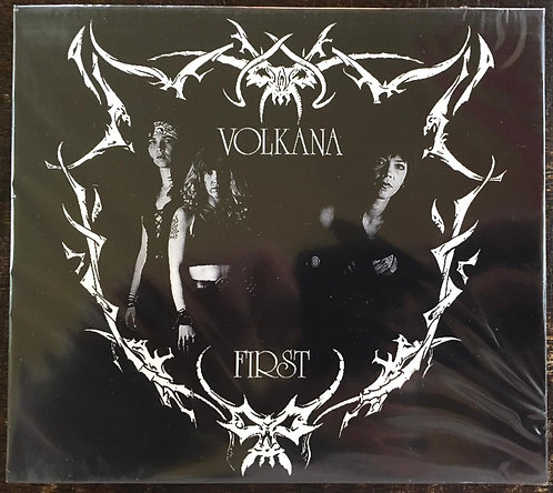 CD Volkana - First - Slipcase - + Bônus