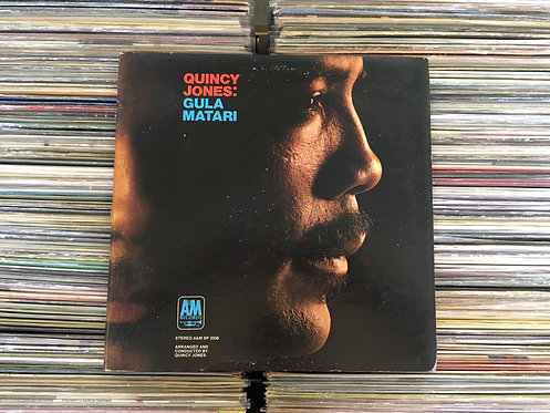 LP Quincy Jones - Gula Matari - Importado