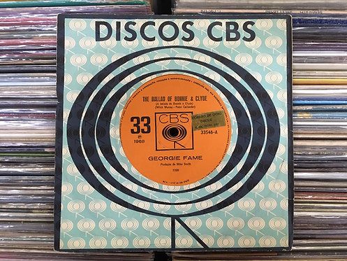Compacto Georgie Fame - The Ballad Of Bonnie And Clyde