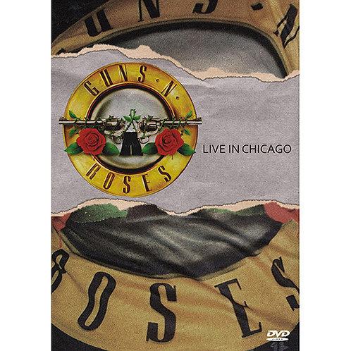 DVD Guns N' Roses - Live In Chicago - Lacrado