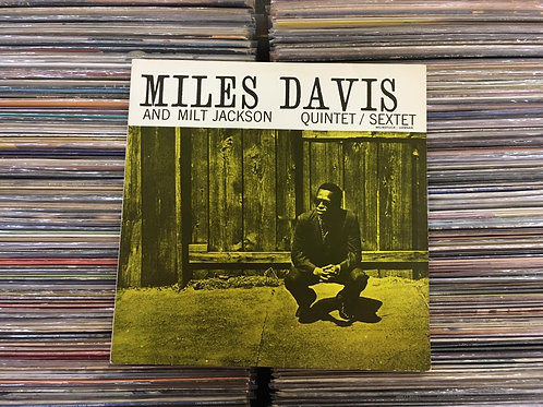 LP Miles Davis And Milt Jackson All Star Quintet / Sextet