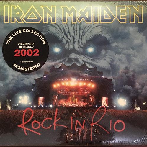 CD Iron Maiden - Rock In Rio - Duplo - Digipack - Lacrado