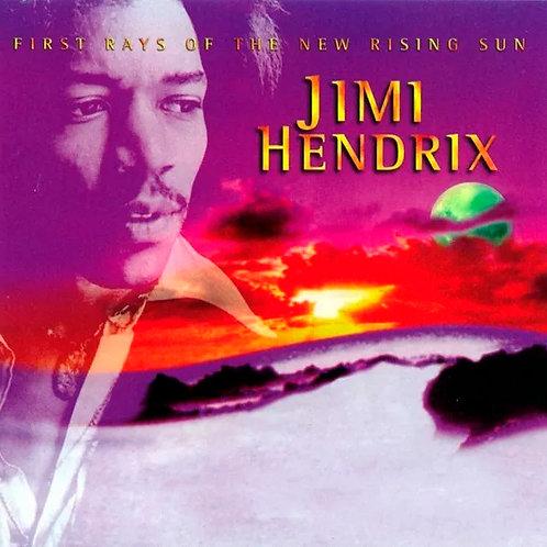 CD + DVD Jimi Hendrix - First Rays Of The New Rising Sun - Lacrado