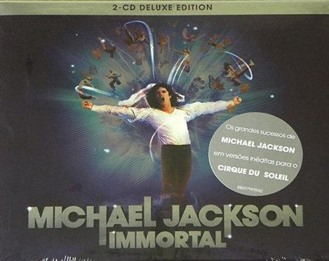CD Michael Jackson - Immortal - Duplo - Lacrado