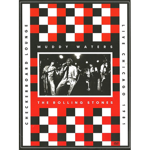 DVD + CD Muddy Waters, The Rolling Stones Checkerboard Lounge Live Chicago 1981