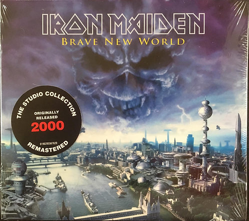 CD Iron Maiden - Brave New World - Digipack - Lacrado