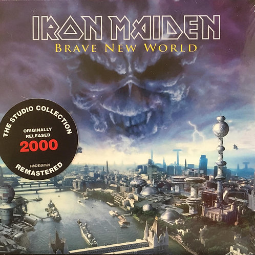 CD Iron Maiden - Brave New World - Digipack - Lacrado