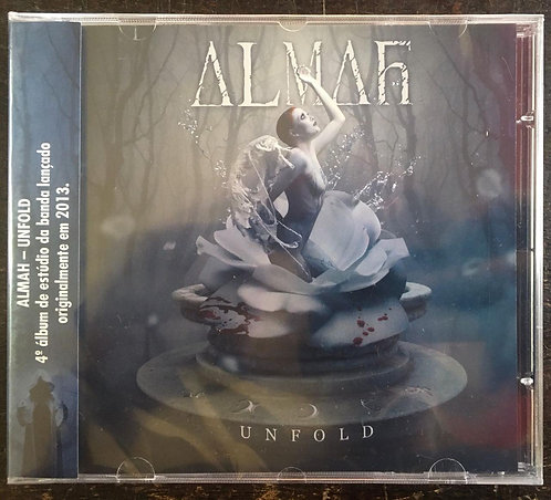 CD Almah - Unfold - Lacrado
