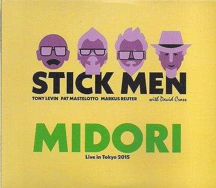 CD Stick Men & David Cross - Midori - Live In Tokyo 2015 - Importado
