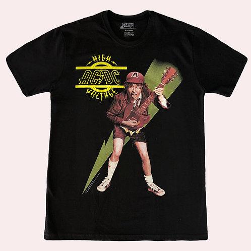 Camiseta AC/DC - High Voltage - Stamp
