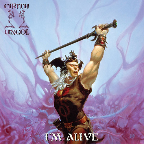 CD Box Cirith Ungol - I'm Alive - (2 CDs + 2 DVDs) - Digipack - Lacrado