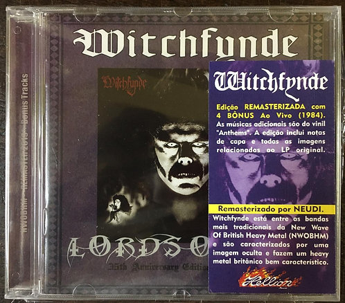 CD Witchfynde - Lords Of Sin - Lacrado