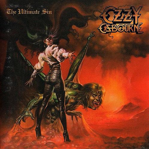 CD Ozzy Osbourne - The Ultimate Sin - Importado - Lacrado