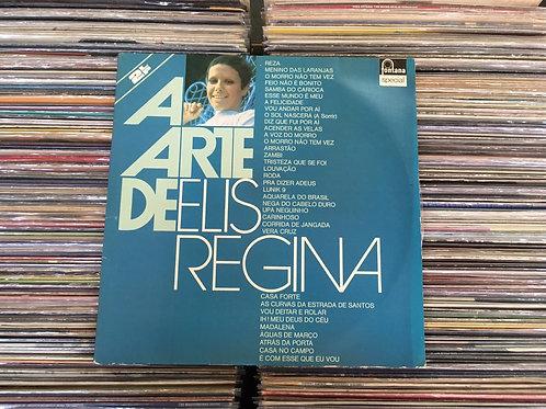 LP Elis Regina - A Arte De Elis Regina - Duplo - Capa Dupla