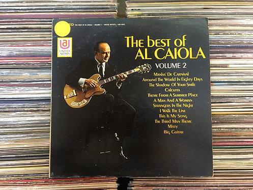 LP Al Caiola - The Best Of Al Caiola Volume 2 - Importado