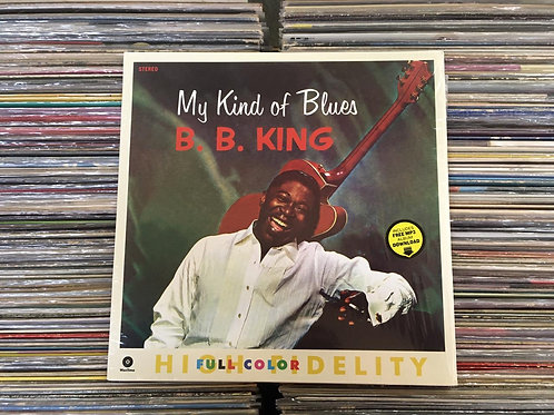 LP B. B. King - My Kind Of Blues - Importado - 180g