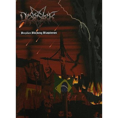 DVD Desaster - Brazilian Blitzkrieg Blasphemies - Lacrado