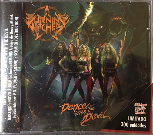 CD Burning Witches - Dance With The Devil - Lacrado
