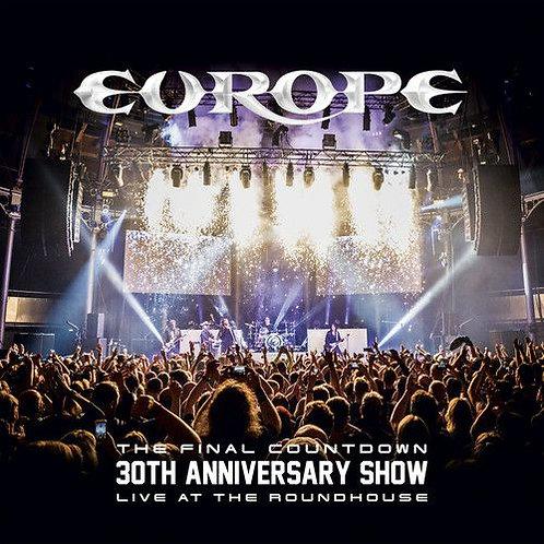 CD Duplo + DVD Europe The Final Countdown 30th Anniversary - Digipack - Lacrado