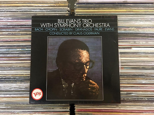 LP Bill Evans Trio With Symphony Orchestra - 1985