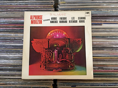 LP Alphonse Mouzon - By All Means