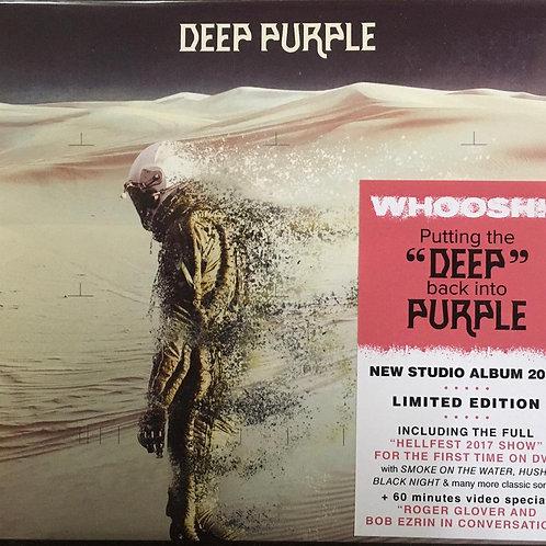 CD + DVD Deep Purple - Whoosh! - Digipack - Lacrado