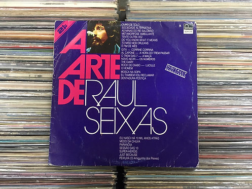 LP Raul Seixas - A Arte De Raul Seixas - Duplo