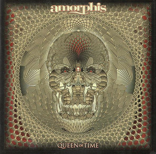 CD Amorphis - Queen Of Time - Lacrado