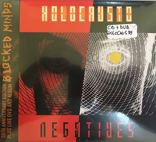 CD + DVD Holocausto - Negatives - Digipack - Lacrado