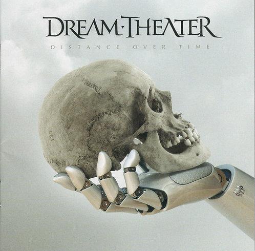 CD Dream Theater - Distance Over Time - Slipcase + Poster - Lacrado
