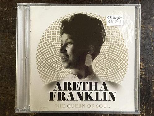 CD Aretha Franklin - The Queen Of Soul - Duplo - Lacrado