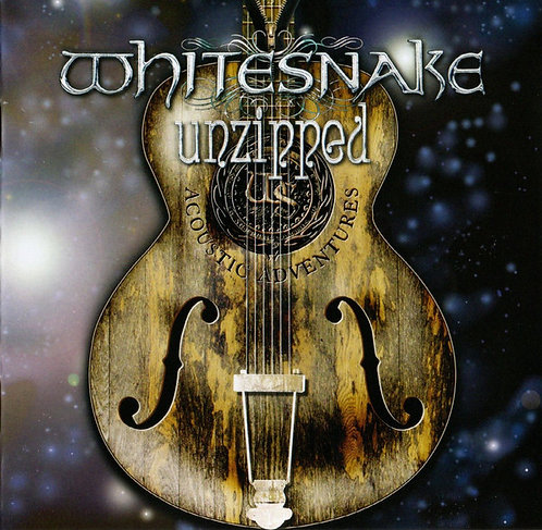 CD Whitesnake - Unzipped... The Love Songs - Lacrado