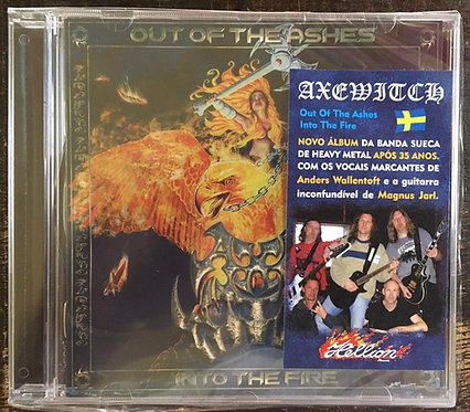 CD Axewitch - Out Of The Ashes Into The Fire - Lacrado