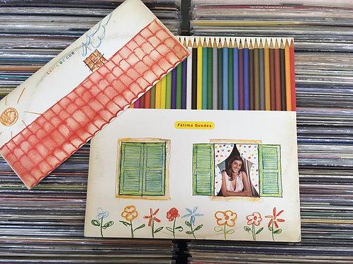 LP Fátima Guedes - Lápis De Cor - Com Encarte