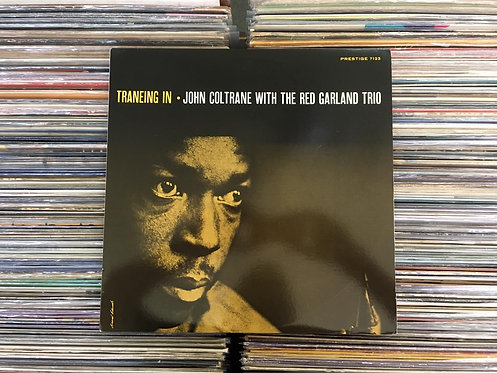 LP John Coltrane With The Red Garland Trio - Traneing In - Importado