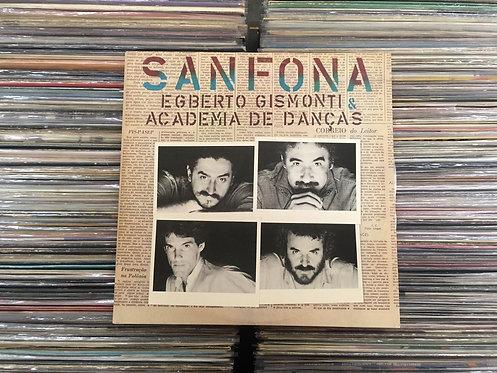 LP Egberto Gismonti & Academia De Danças - Sanfona - Duplo