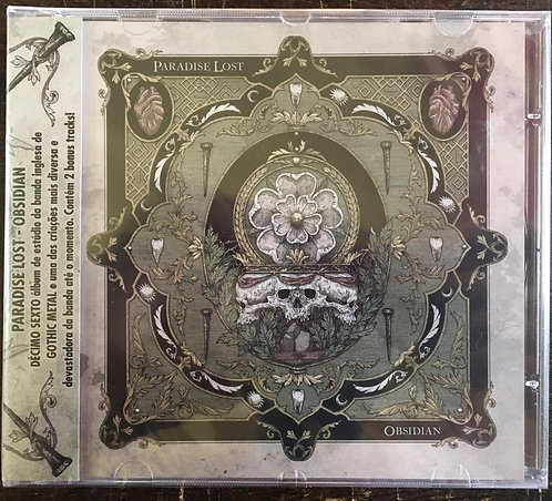 CD Paradise Lost - Obsidian - Lacrado