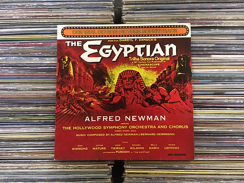 LP The Egyptian (Trilha Sonora Original Do Filme O Egípcio)