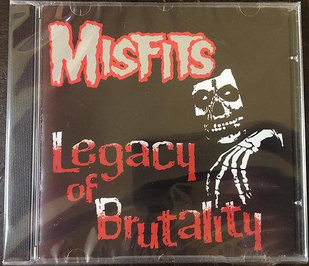 CD Misfits - Legacy Of Brutality - Importado - Lacrado