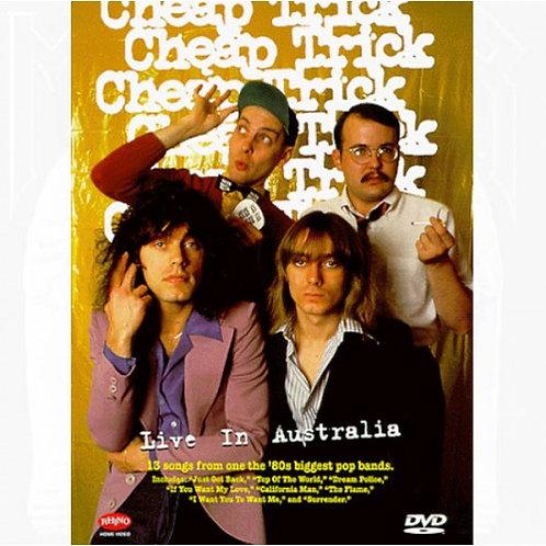 DVD Cheap Trick - Live in Australia - Lacrado