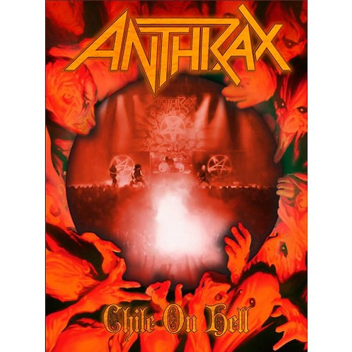 DVD Anthrax - Chile On Hell - Lacrado